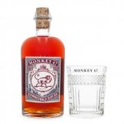 Sloe Gin Monkey 47 500ml + Copo Monkey 47 Exclusivo
