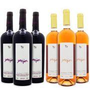 Vinho Villa Francioni Joaquim Combo Tinto e Rosé - 6un