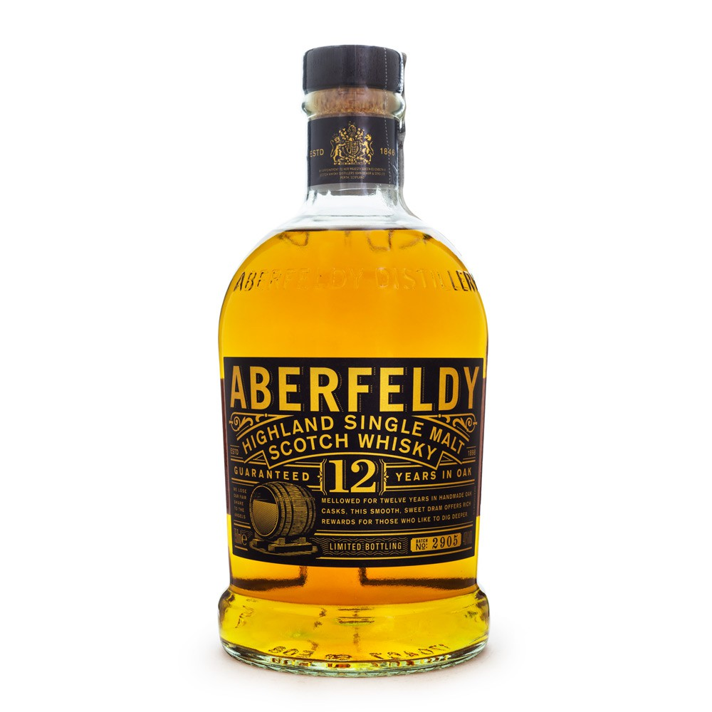 Aberfeldy 12 Anos Single Malt Scotch Whisky 750ml