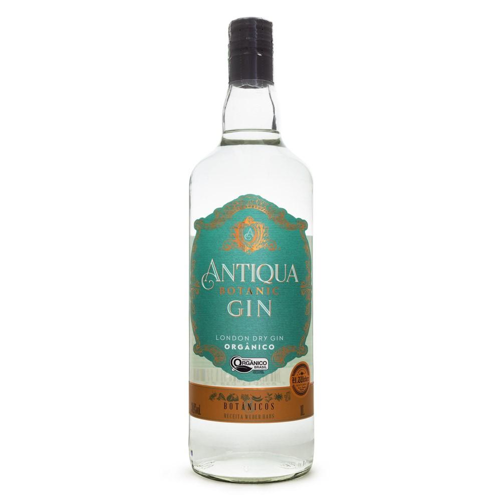 Antiqua Botanic London Dry Gin Orgânico 1L