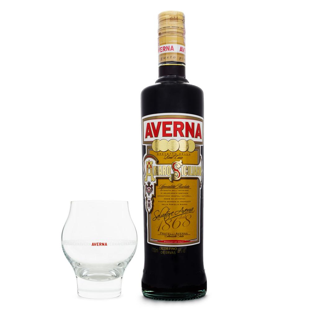 Averna Amaro Siciliano - Bitter 700ml + Copo Exclusivo