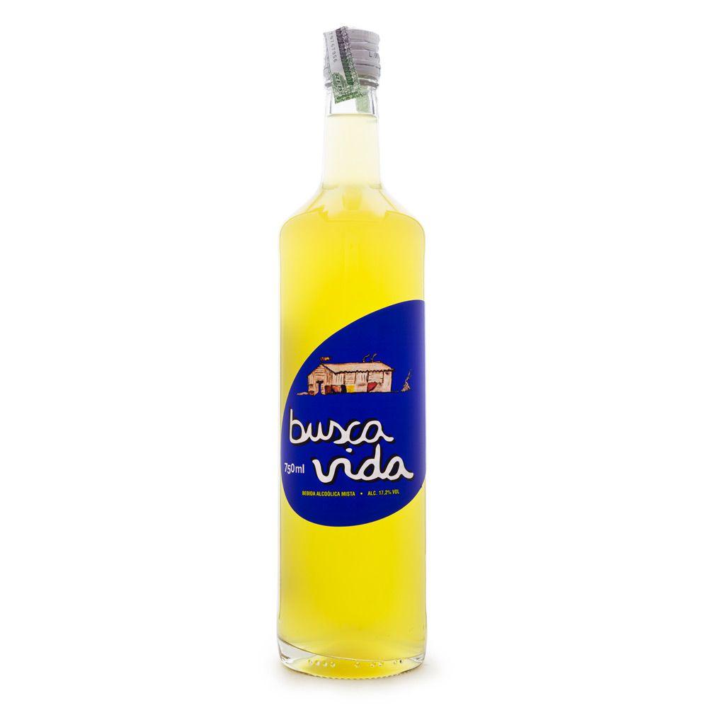Busca Vida - Bebida Mista de Cachaça 750ml