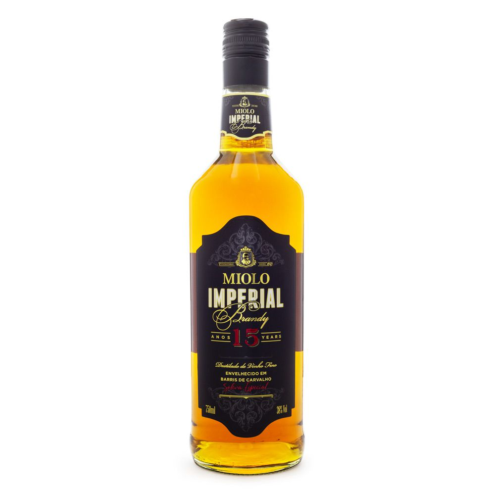 Brandy Imperial Miolo 15 Anos 750ml