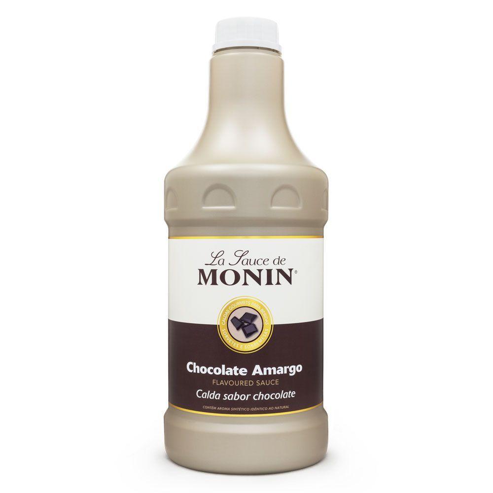 Calda de Chocolate Amargo Monin 1,89L