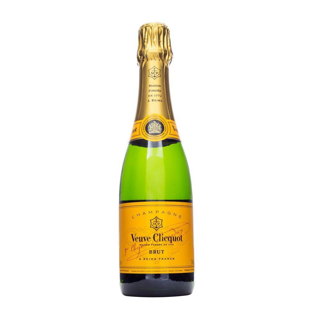 Champagne Veuve Clicquot Brut Meia Garrafa 375ml