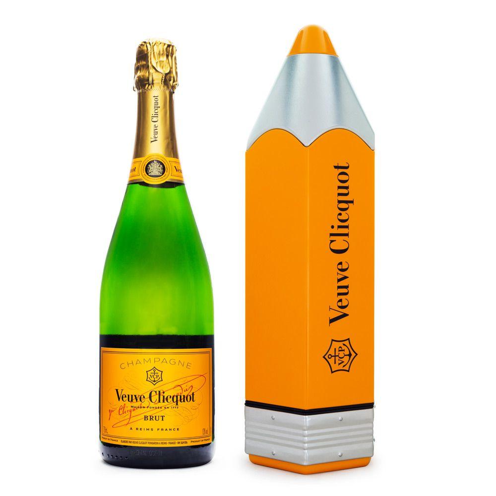 Champagne Veuve Clicquot Brut - Edição Especial Pencil 750ml