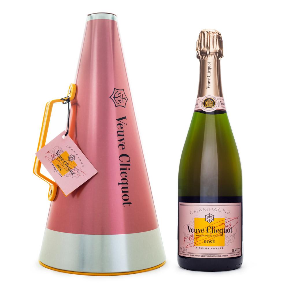 Champagne Veuve Clicquot Rosé 750ml Scream Your Love - Balde de Gelo