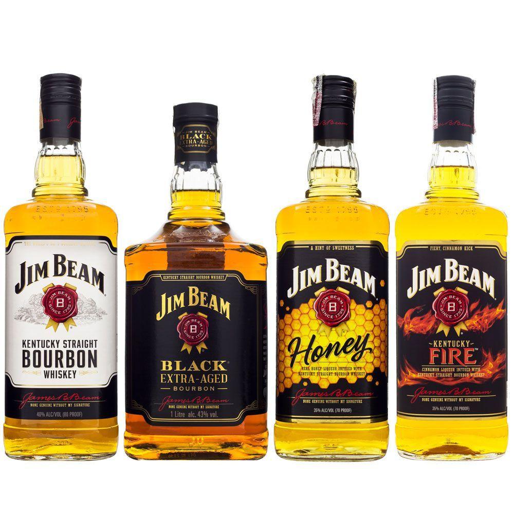 Combo Jim Beam Bourbon Whiskey
