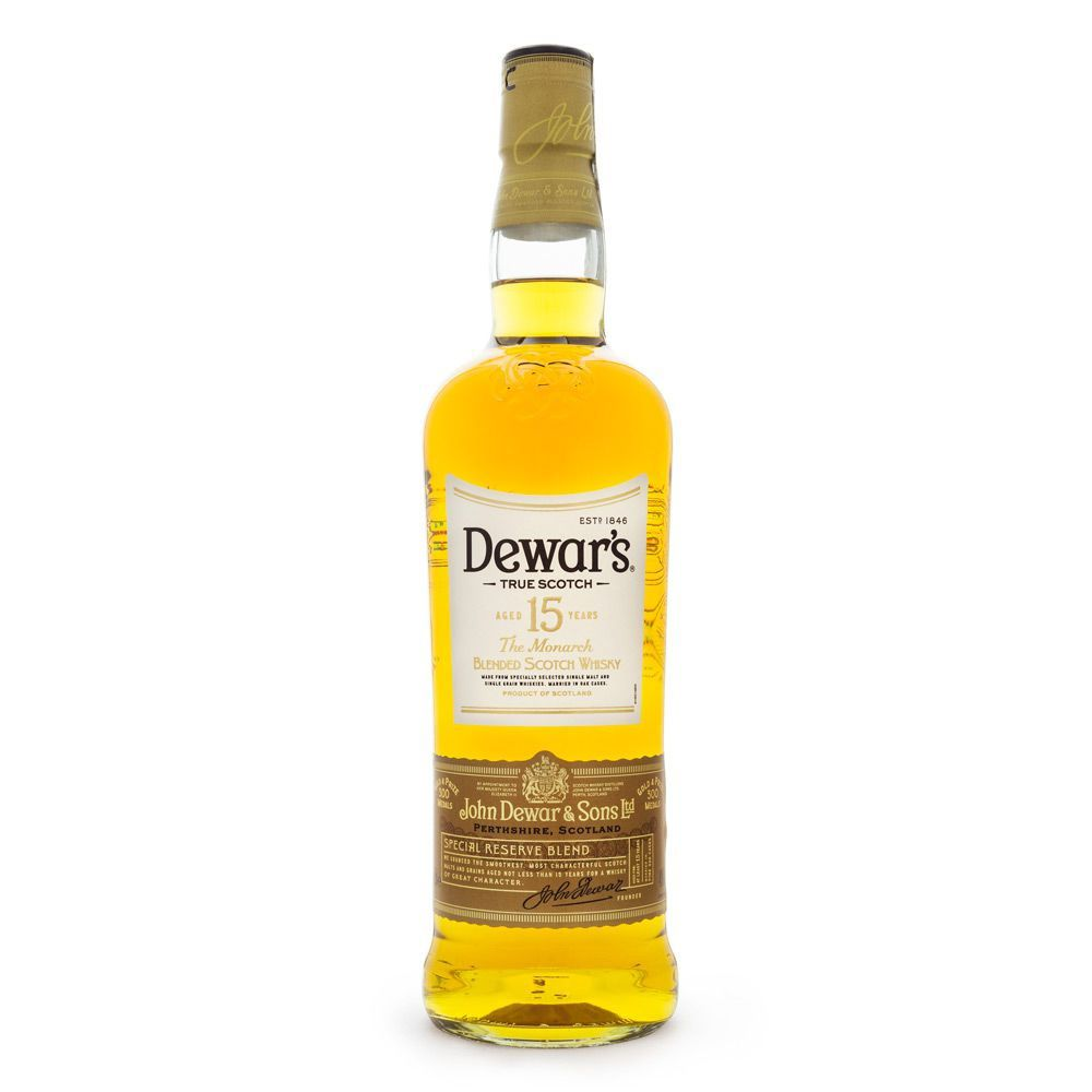 Dewar's 15 Anos Blended Scotch Whisky 750ml