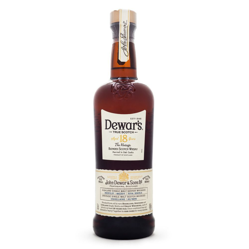 Dewar's 18 Anos Blended Scotch Whisky 750ml