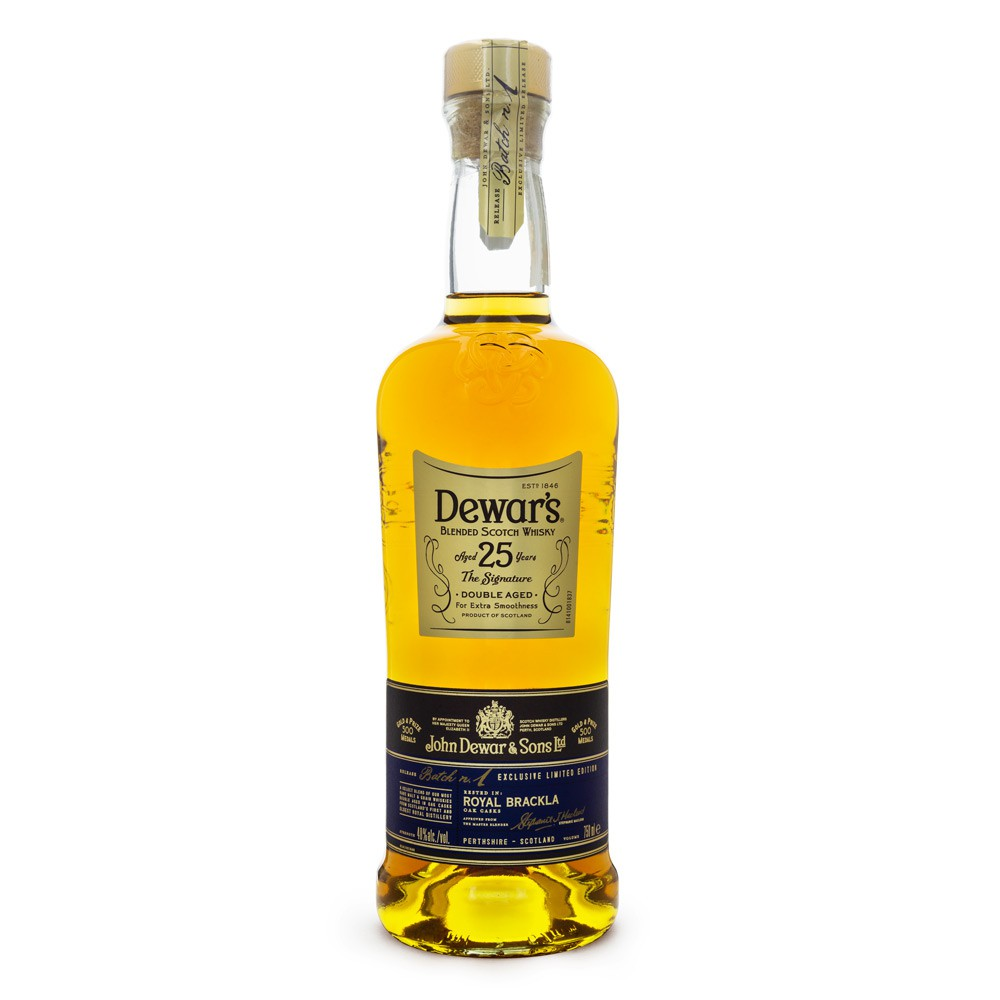 Dewar's 25 Anos Blended Scotch Whisky 750ml