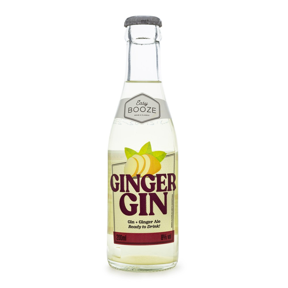 Easy Booze Ginger Gin - Drink Pronto 200ml