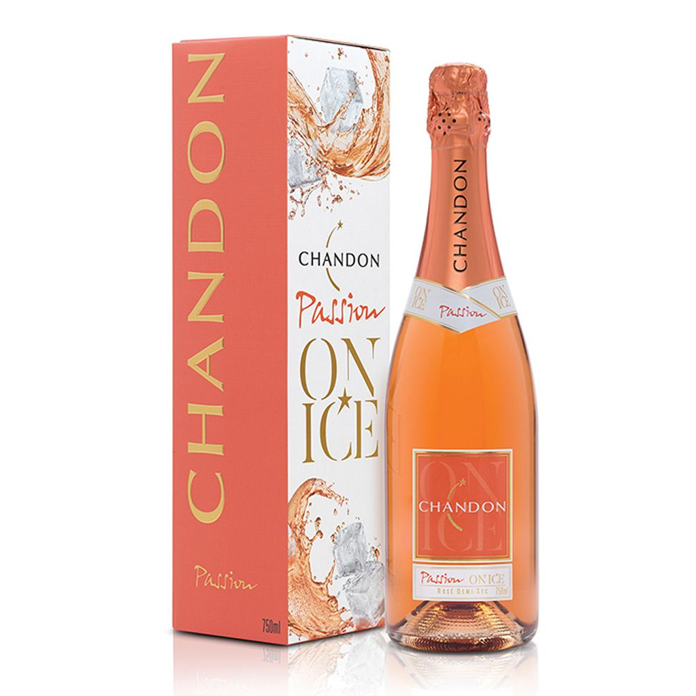 Espumante Chandon Passion Rosé Demi-Sec 750ml