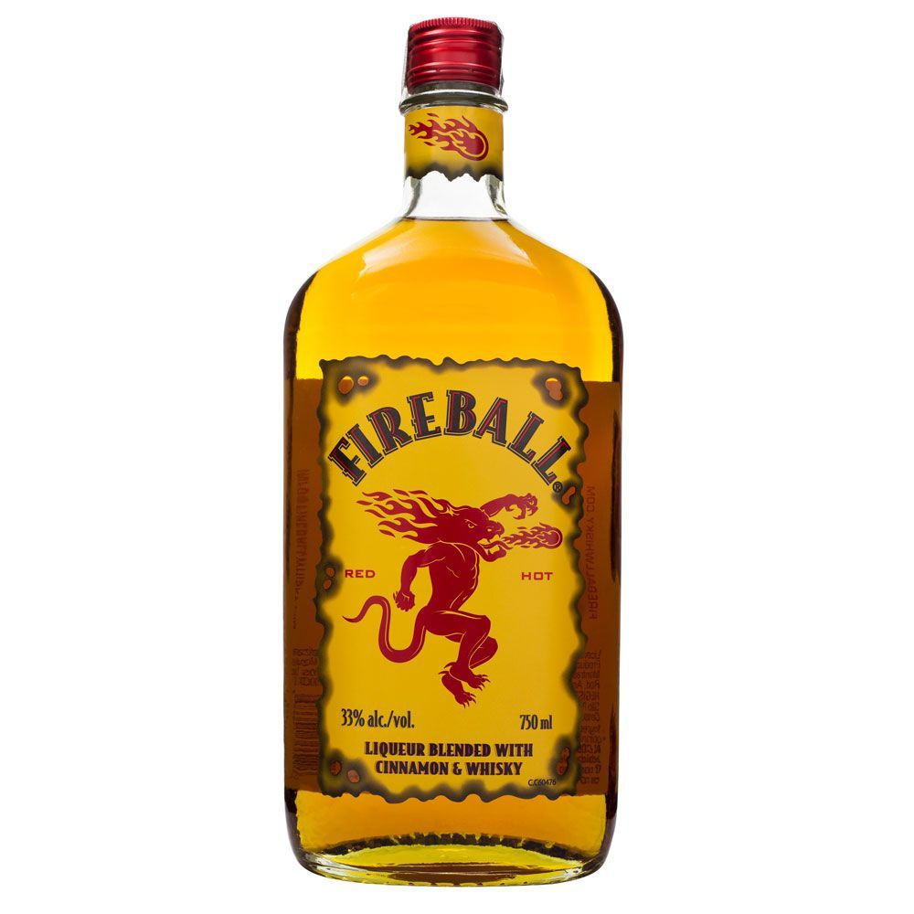 Fireball Cinnamon Whisky - Licor de Canela 750ml