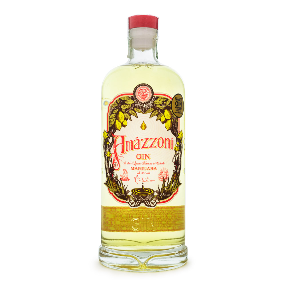 Gin Amázzoni Maniuara 750ml