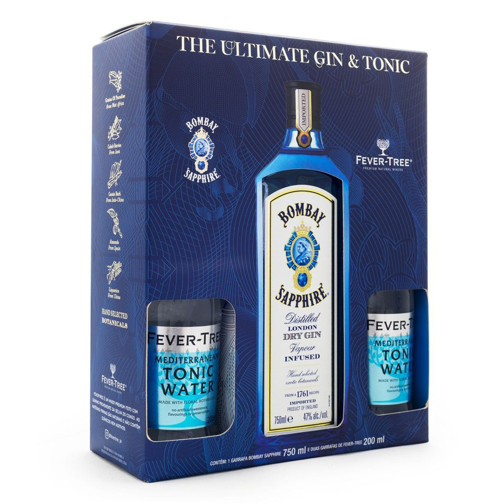Bombay Sapphire Gin & Tonic Kit