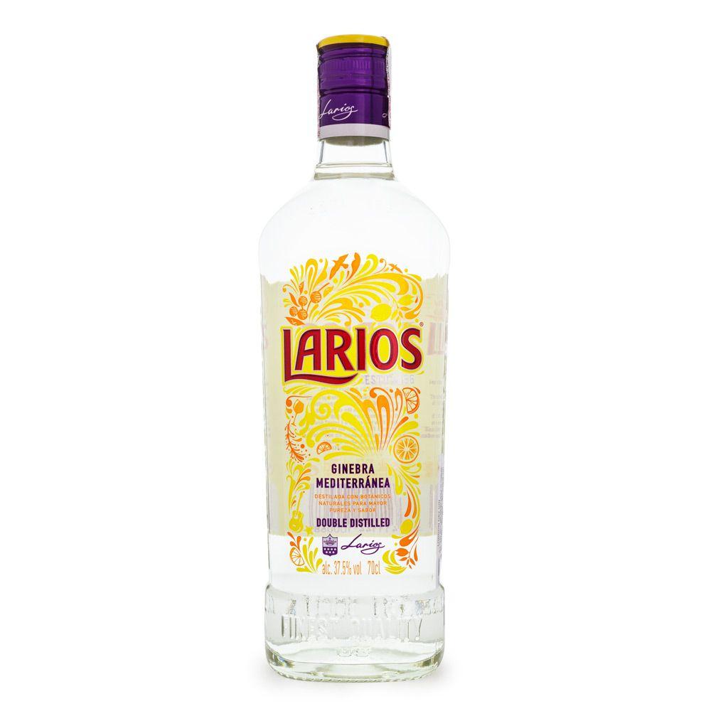 Gin do Mediterrâneo Larios London Dry 700ml