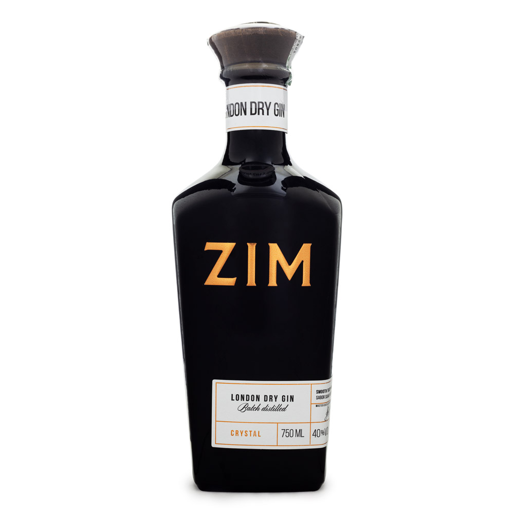 Gin Zim Crystal London Dry 750ml