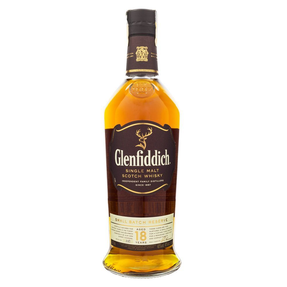 Glenfiddich 18 Anos Single Malt Scotch Whisky 750ml