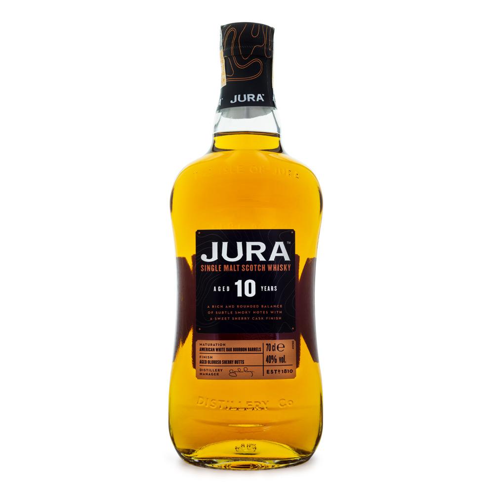 Jura 10 Anos Single Malt Scotch Whisky 700ml