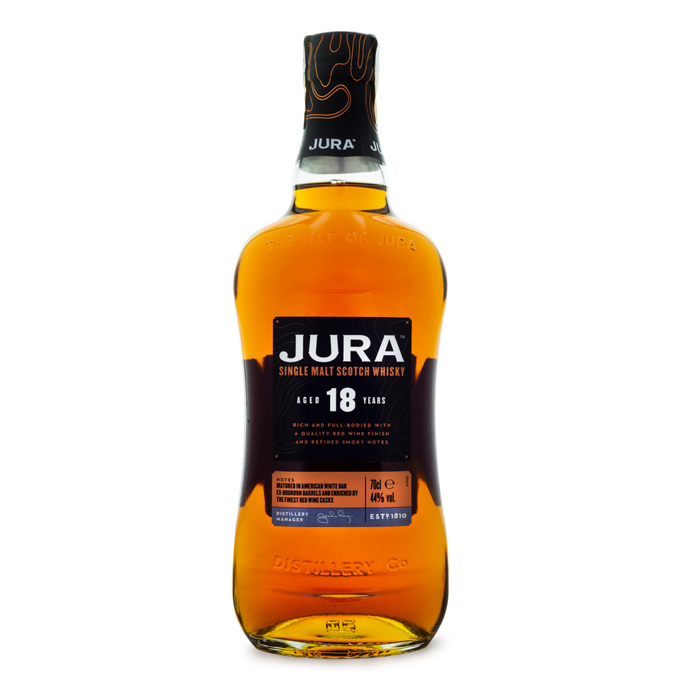 Jura 18 Anos Single Malt Scotch Whisky 700ml