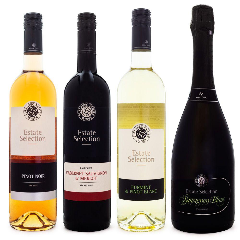 Kit Vinhos + Espumante Puklavec Family Wines