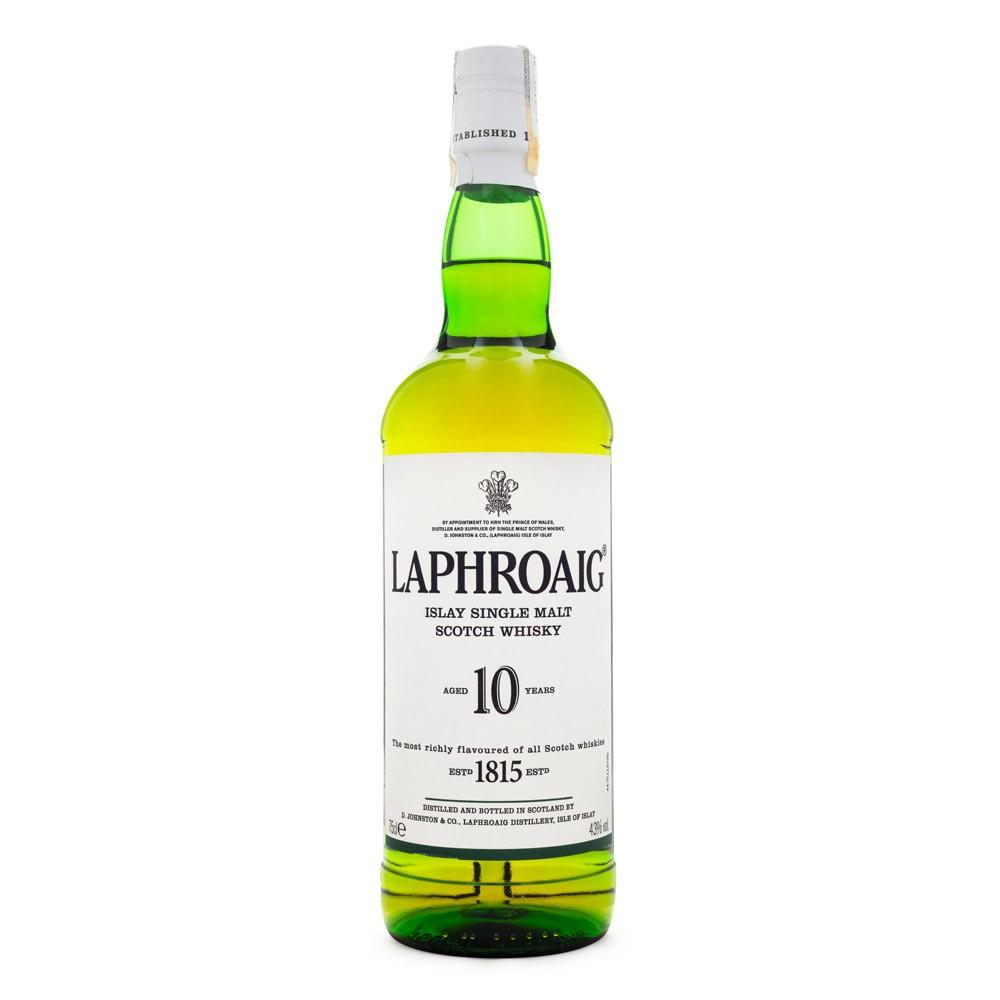 Laphroaig 10 Anos Single Malt Scotch Whisky 700ml