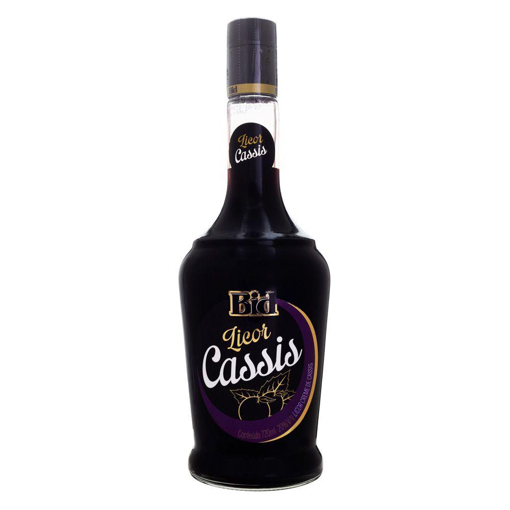 Licor Creme de Cassis Bid 720ml
