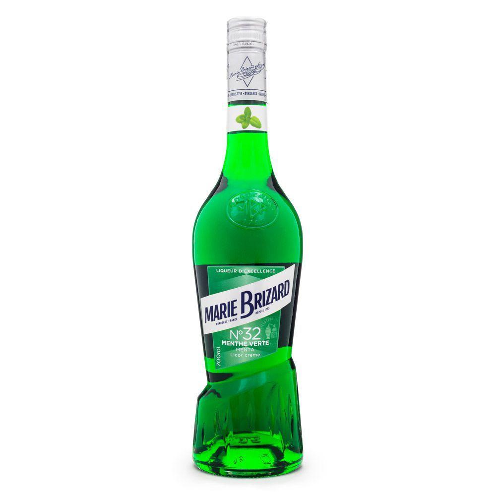 Licor Creme Menthe Verte Marie Brizard Nº32 700ml