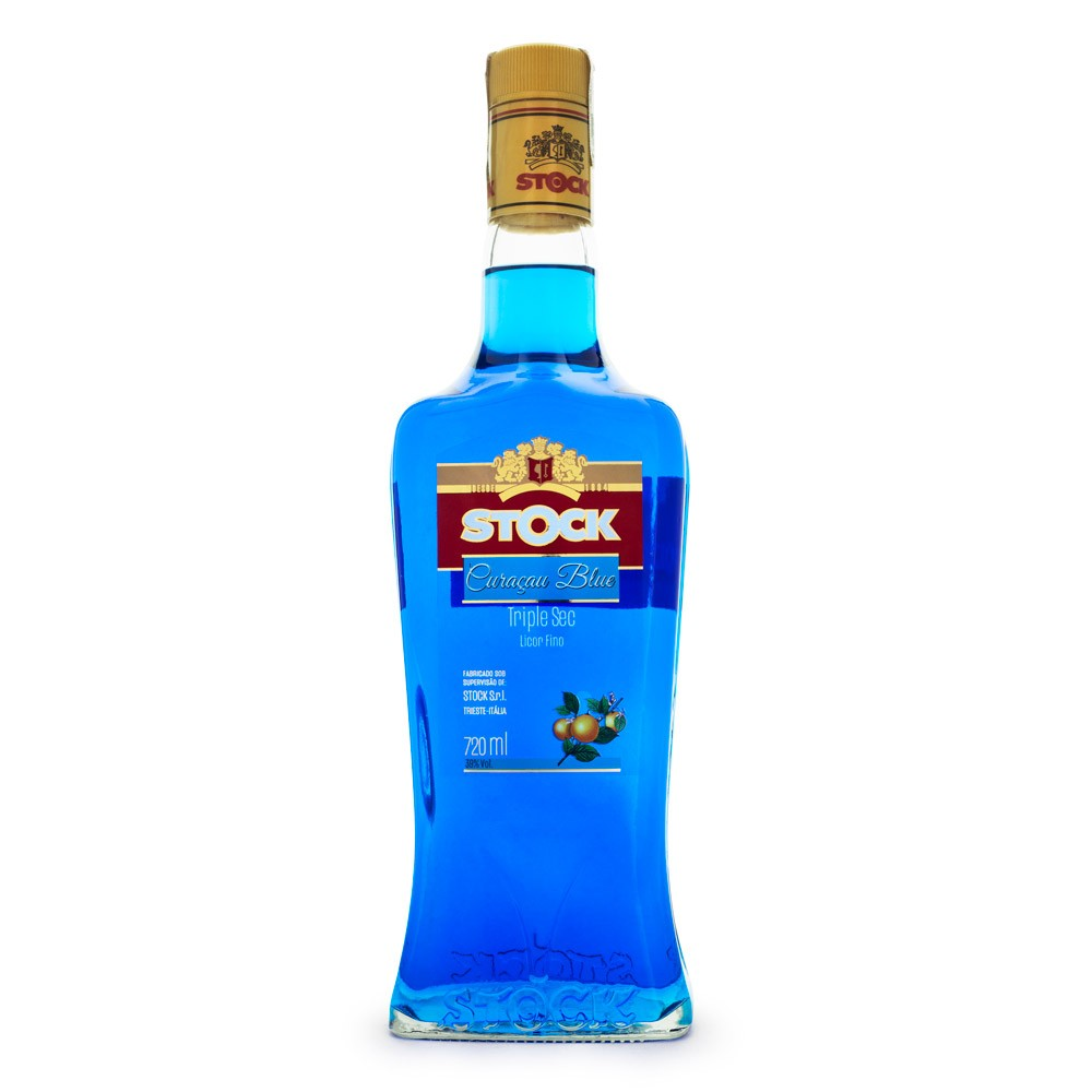 Licor Curaçau Blue Stock 720ml