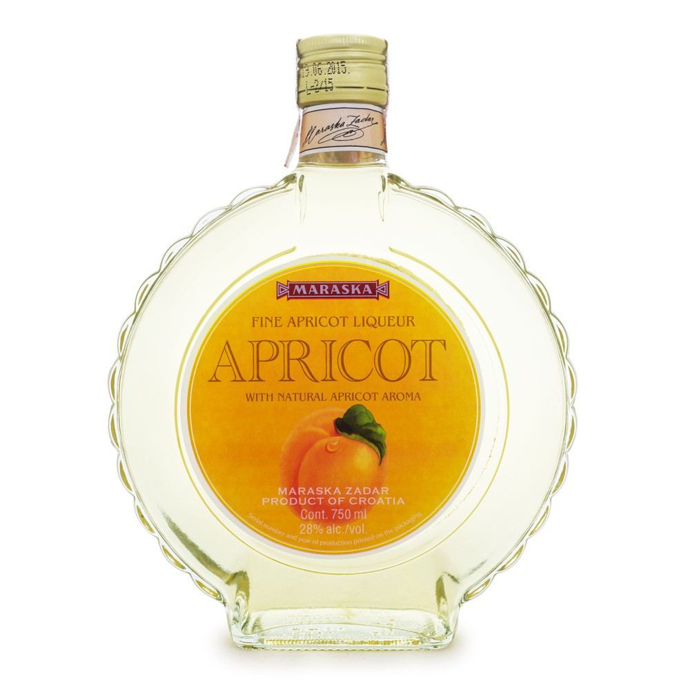 Licor de Damasco Apricot - Maraska 750ml
