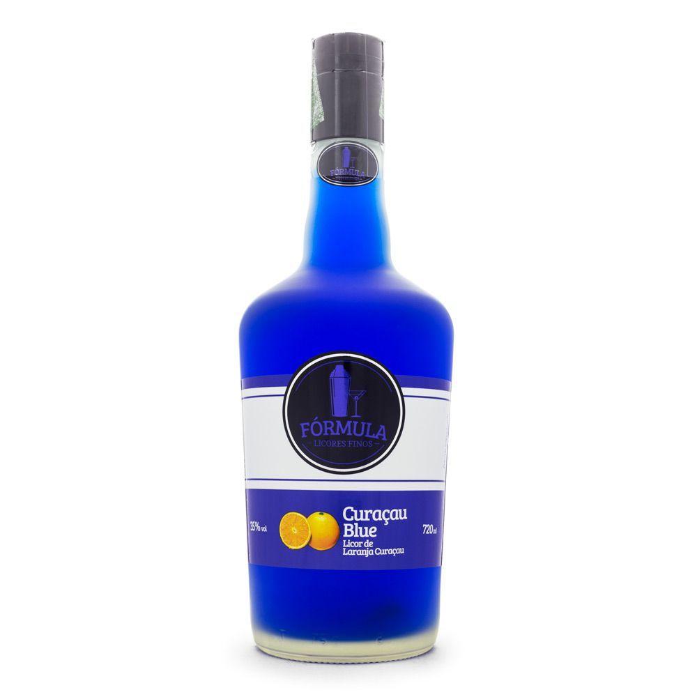 Licor Curaçau Blue Fórmula 720ml