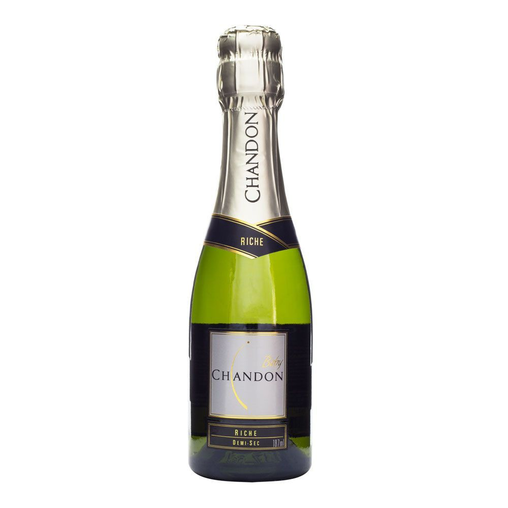 Miniatura Espumante Baby Chandon Riche Demi-Sec 187ml
