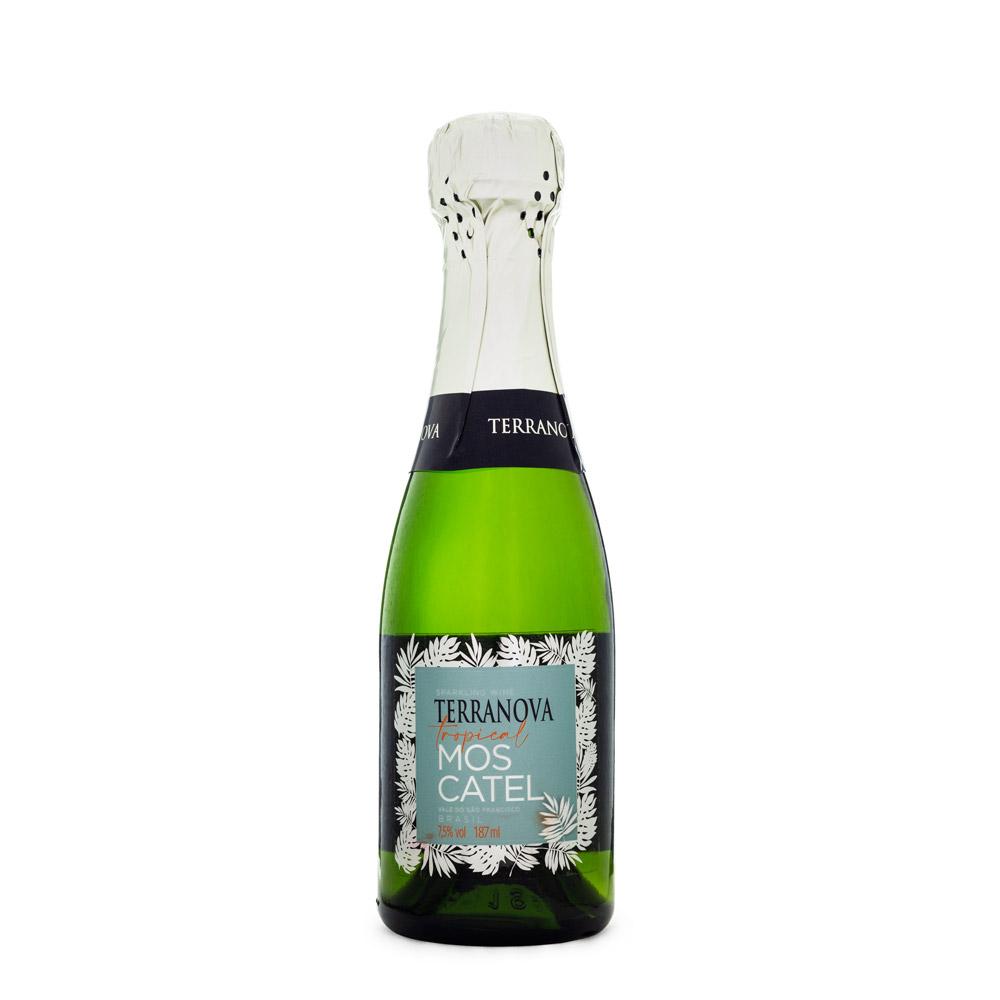 Miniatura Espumante Baby Terranova Moscatel 187ml