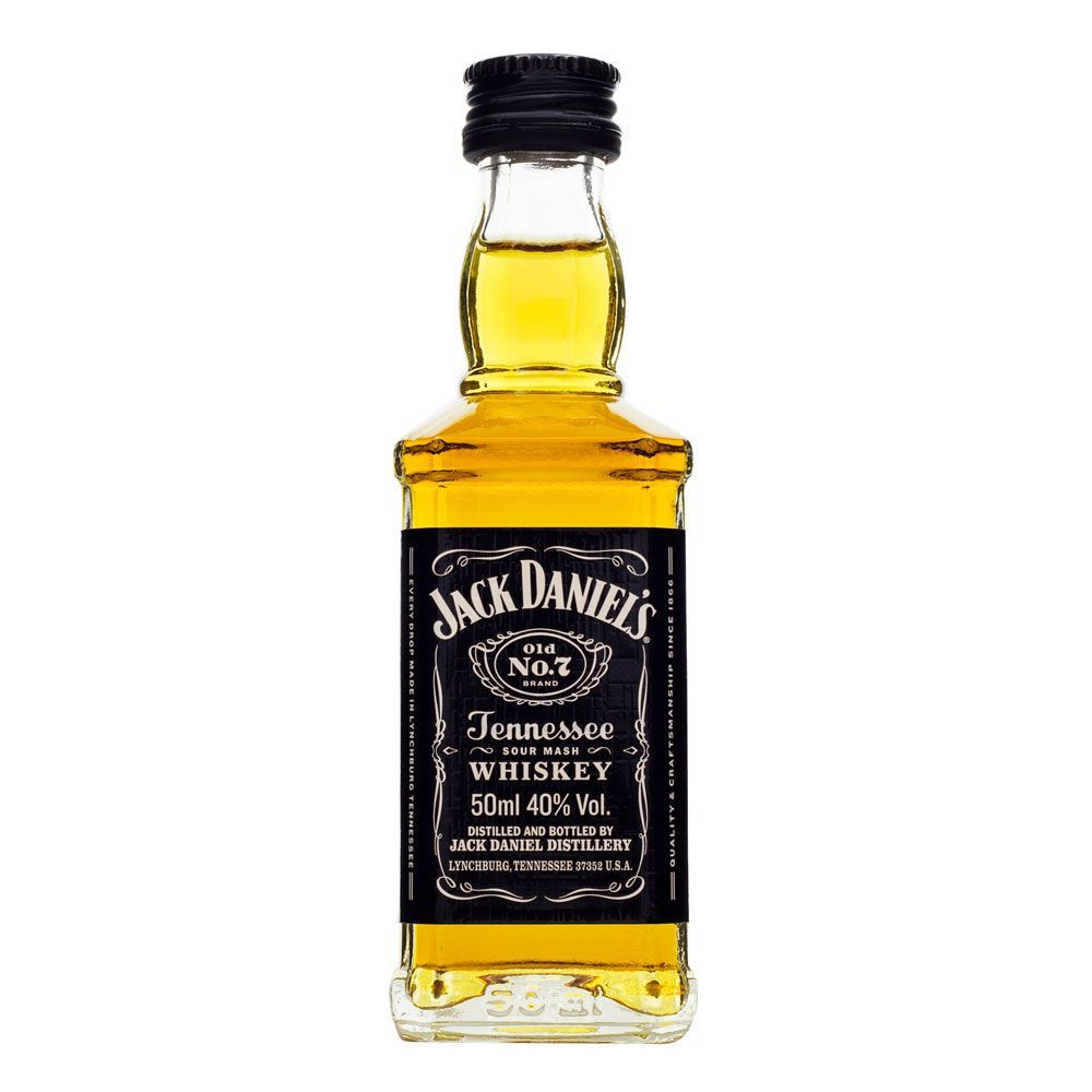 Miniatura Whiskey Jack Daniel's 50ml