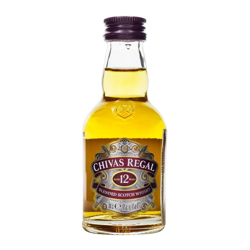 Miniatura Whisky Chivas Regal 12 Anos 50ml
