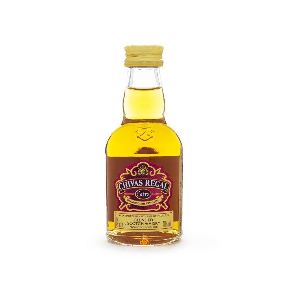 Miniatura Whisky Chivas Regal Extra 50ml