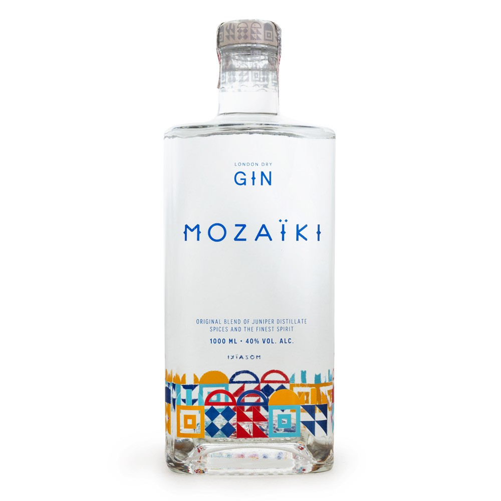 Mozaik London Dry Gin 1L