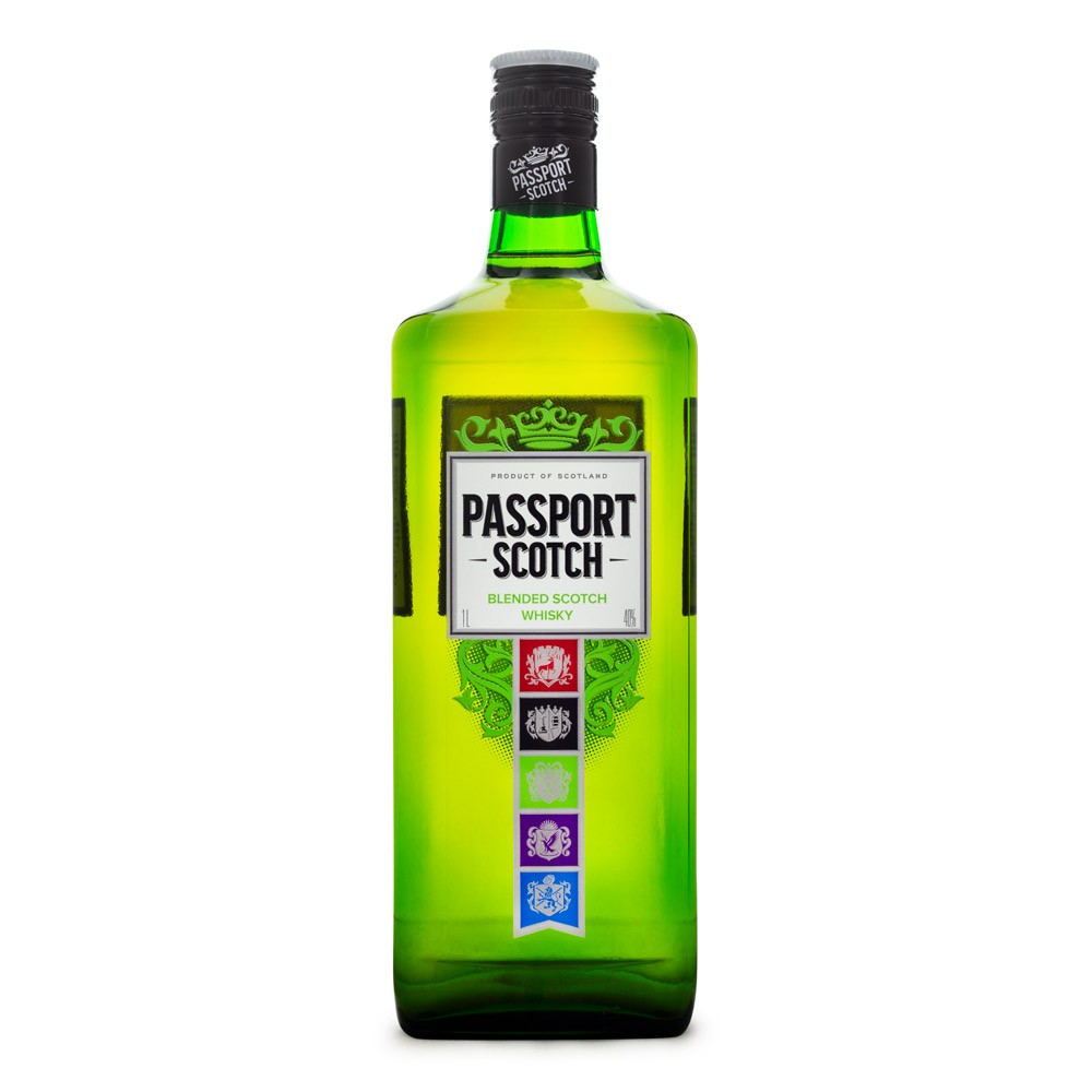 Passport Blended Scotch Whisky 1L