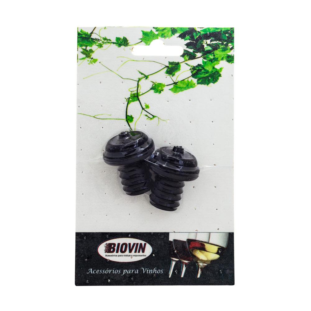 Rolha para Salva Vinhos Biovin - 2 Unidades