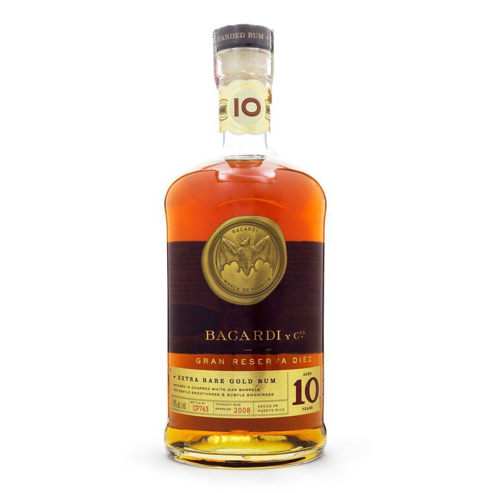 Rum Bacardi Gran Reserva Diez - 10 Anos 750ml