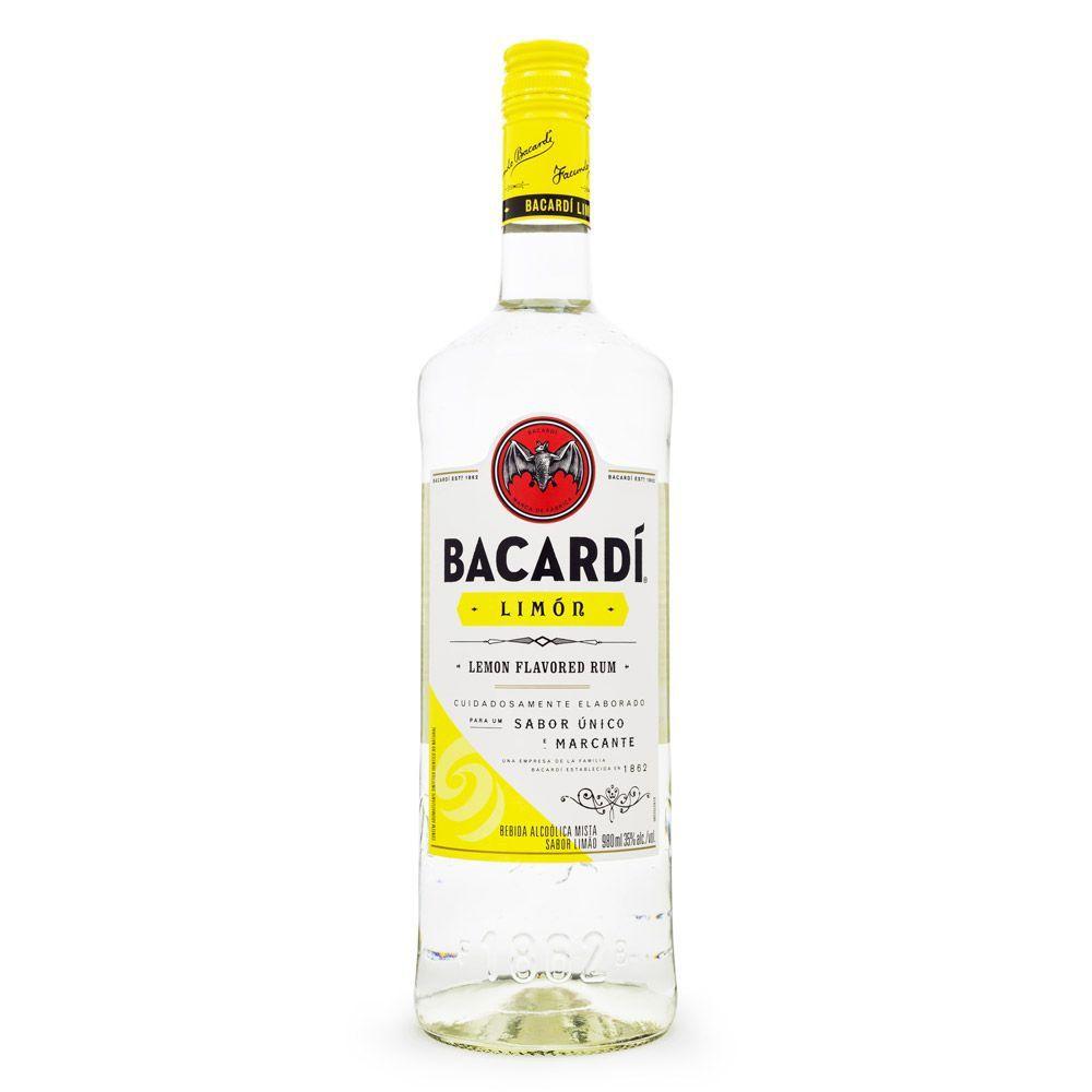 Rum Bacardi Limón 980ml