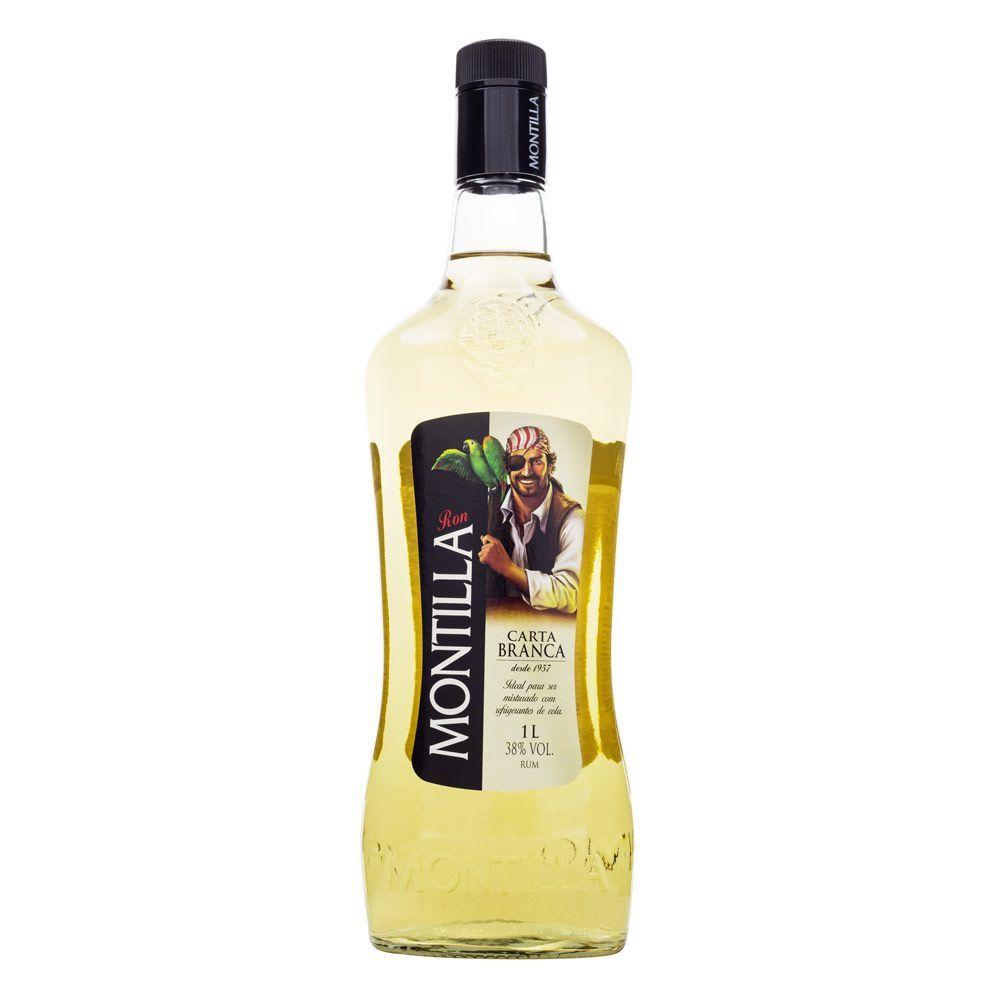 Rum Montilla Carta Branca 1000ml