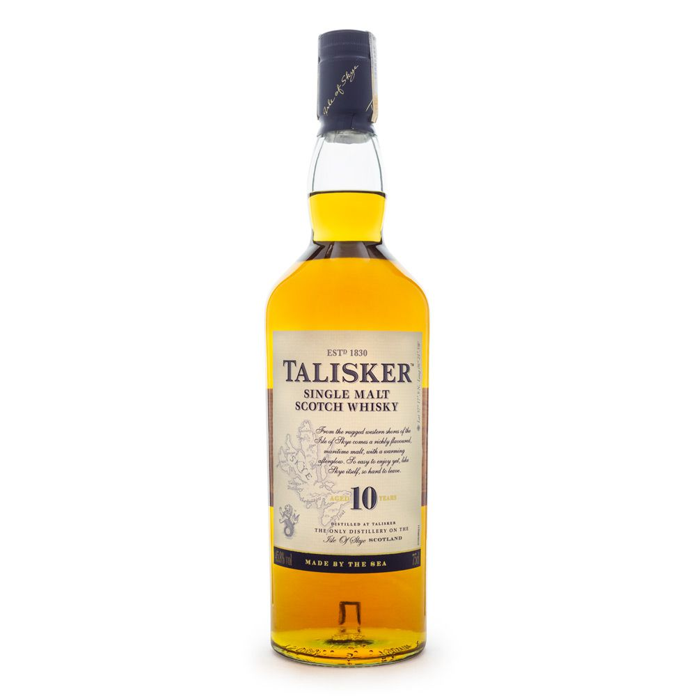 Talisker 10 Anos Single Malt Scotch Whisky 750ml
