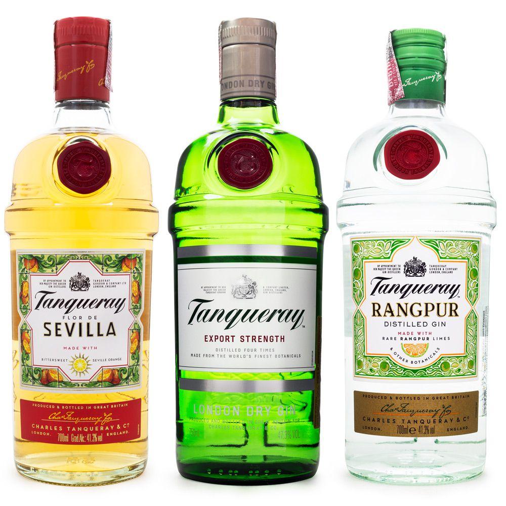 Tanqueray Gin Combo - Sevilla + London Dry + Rangpur