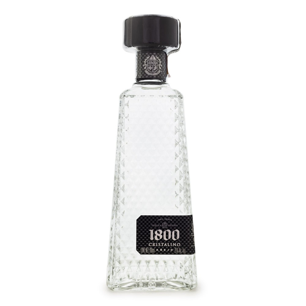 Tequila 1800 Cristalino Añejo 700ml