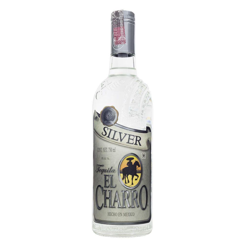 Tequila El Charro Silver 750ml
