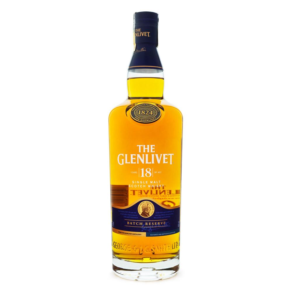 The Glenlivet 18 Anos Single Malt Scotch Whisky 750ml