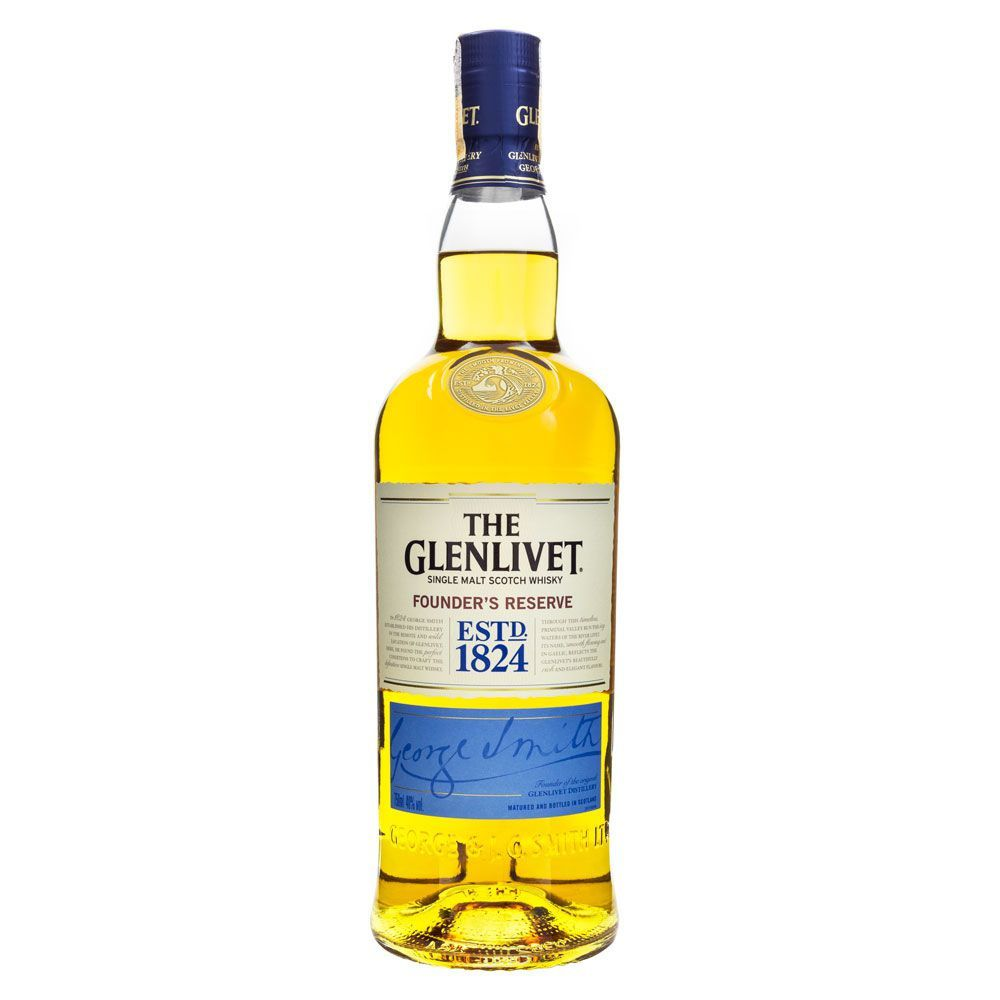 The Glenlivet Founder's Reserve Single Malt Scotch Whisky 750ml