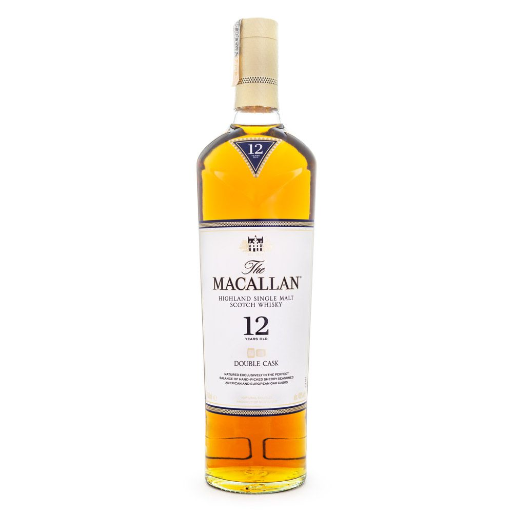 The Macallan Double Cask 12 Anos Single Malt Scotch Whisky 700ml